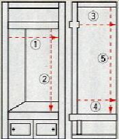 仏間寸法の測り方