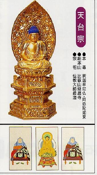 天台宗のご本尊と仏具の飾り方 -...